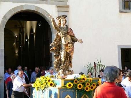 Salvator Mundi in processione 2